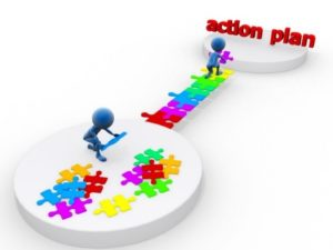 establishing an action plan to ensure proper learning transfer